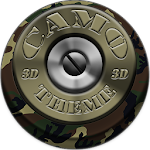Next Launcher Theme Camo 3D Icon