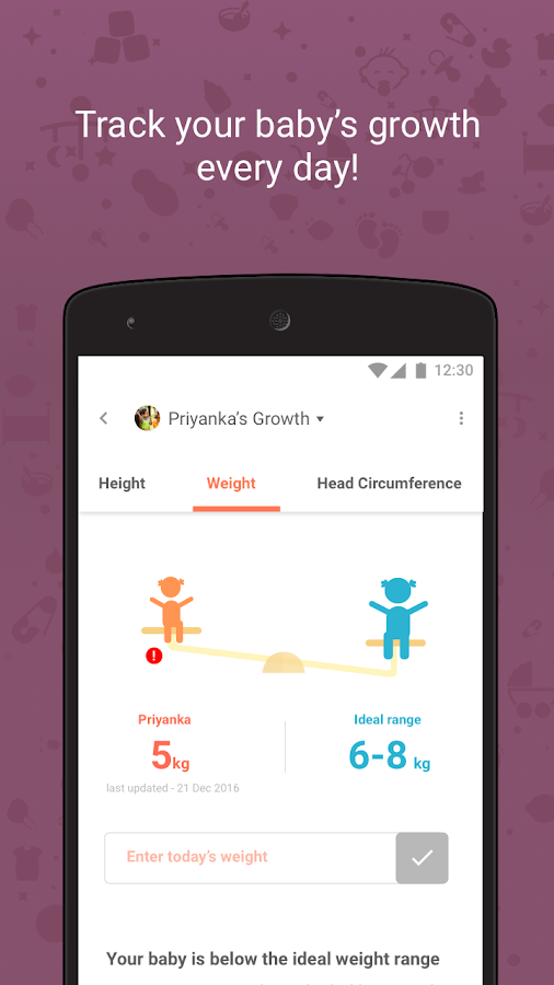Pregnancy Tracker and Baby App- screenshot