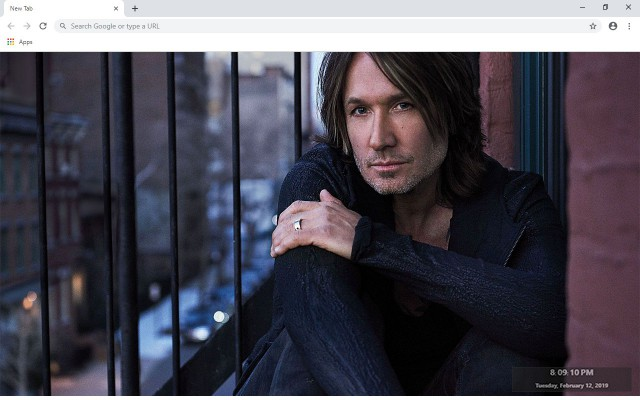 Keith Urban New Tab & Wallpapers Collection