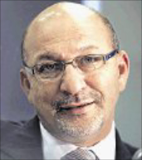 TAX RELIEF: Finance Minister Trevor Manuel. © Unknown.  BD Weekender. 14 April 2007, pg 6. Hero-rated