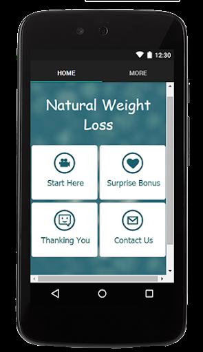 Natural Weight Loss Tips