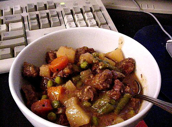 Almost Campbell's Vegetable Beef Soup--bonnie's Recipe