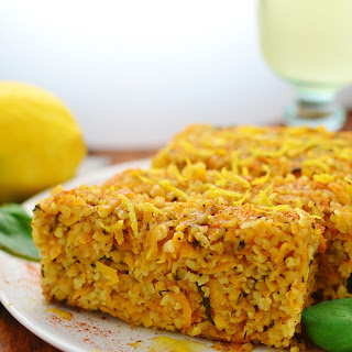 Butternut Squash Bulgur Wheat Loaf
