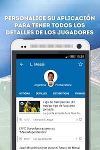 Fichajes fútbol screenshot 4
