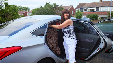 Photo: Packing car - but not all of Lynne's washing was quite dry.