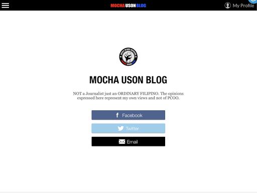 Mocha Uson Blog for PC