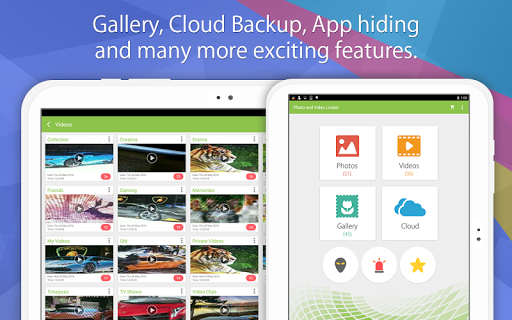 Photo Video Gallery Locker - Hide Videos screenshot 9