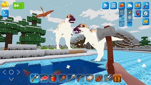 RaptorCraft 3D: Survival Craft u25ba Dangerous Worlds 5.0.4 screenshots 2