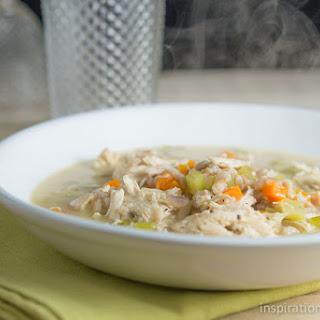 Creamy Chicken Soup with Farro