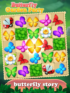 Butterfly Match Rebuild Paradise