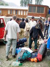 Photo: Tarashing. gettting porters organized