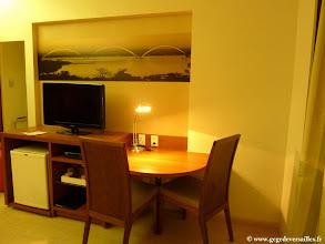 Photo: #014-Brasilia. Le Kubitschek Plaza. La chambre.