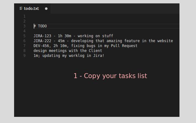 Jira Worklog Tool