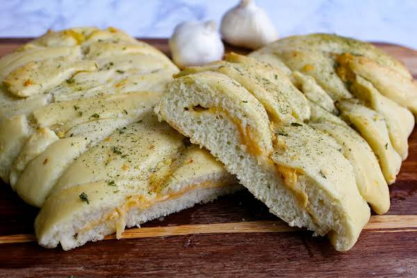 3 Cheese Garlic Braid Recipe