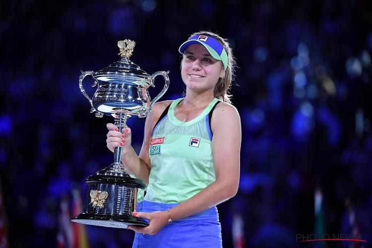 Sofia Kenin Australian Open