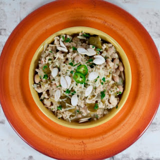 Tomatillo Chicken Chili with White Beans