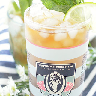 Mint Julep Iced Tea.