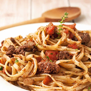 Linguine with Chicken Liver Ragu Recipe