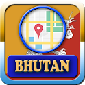 Bhutan Maps And Direction icon