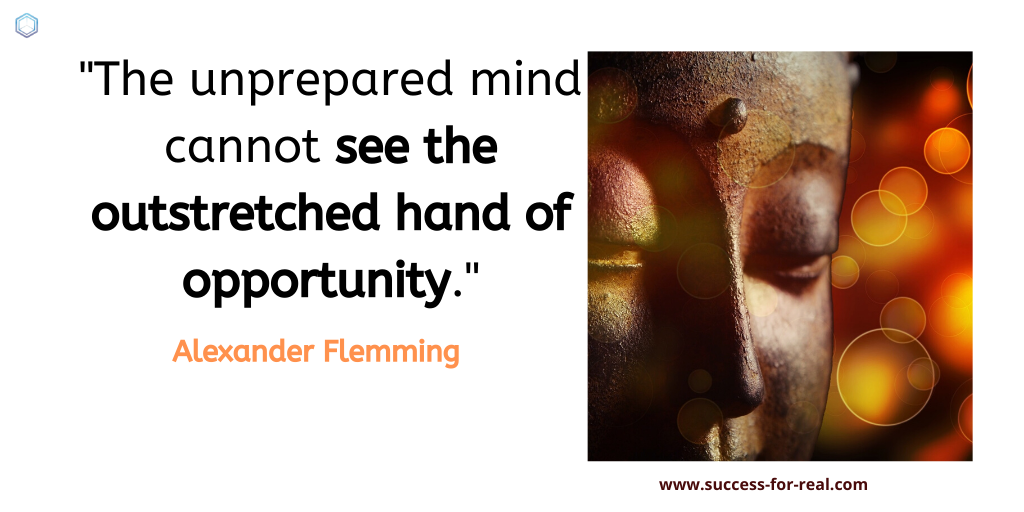 365 Success Quotes For Motivation - Picture Quote By Alexander Flemming