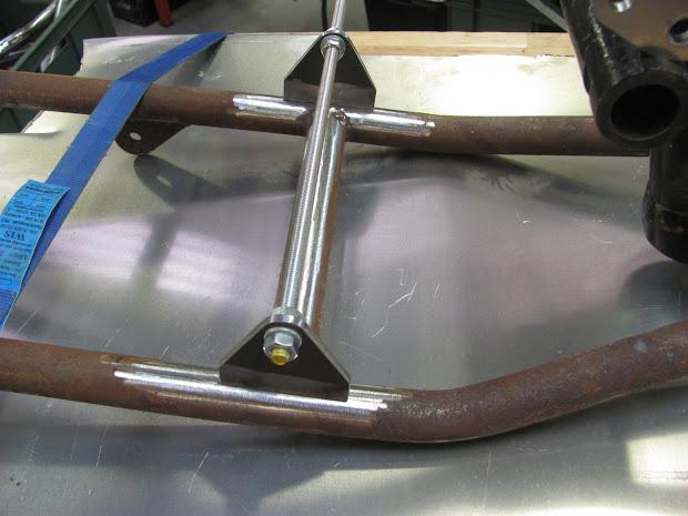Supports inférieur en place fabriqués par Machines et moteurs.