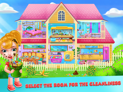 Keep Your House Clean - Girls Home Cleanup Game 1.2.4 screenshots 8