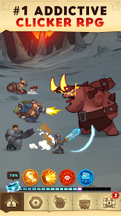 Almost a Hero RPG Clicker Game with Upgrades v1.8.1