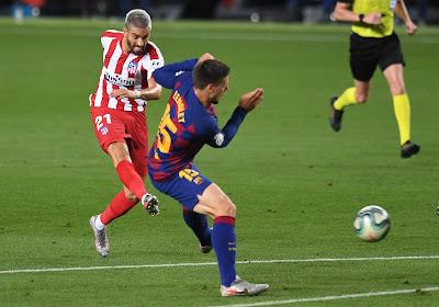 Impressionnant contre le Barça, Yannick Carrasco n'a qu'un seul regret