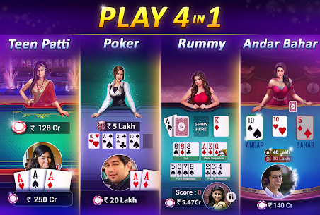 Teen Patti Gold – With Poker & Rummy 2