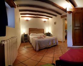 Photo: Photosphère, streetview de la chambre à 1 grand lit de la location de vacances www.locations-moustiers.com