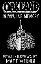 Photo: Oakland in Popular Memory cover final draft. Artwork by Dave Smallen