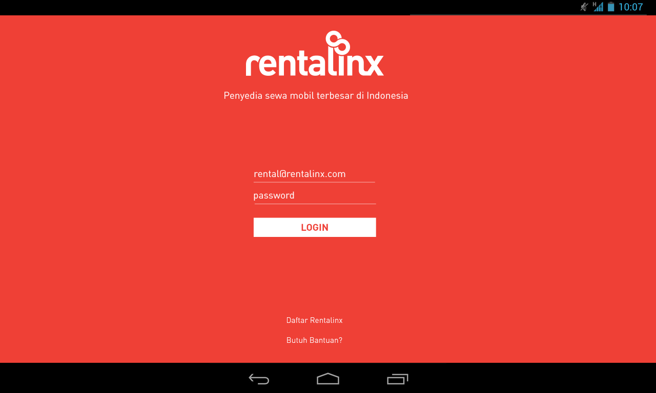 Rentalinx- screenshot