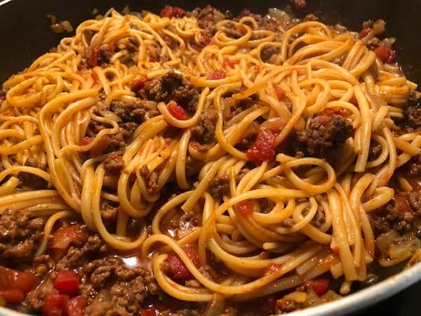 Taco Sketti Skilllet Meal