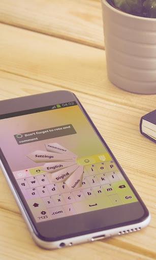 玩免費個人化APP|下載葉子雨鍵盤 app不用錢|硬是要APP