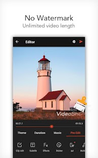VideoShow Pro - Video Editor, music, no watermark Screenshot