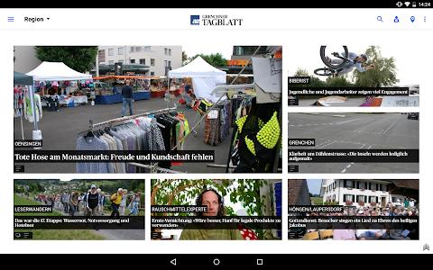 az Grenchner Tagblatt News screenshot 6