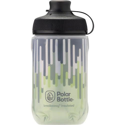 Polar Breakaway Muck Insulated Zipper Water Bottle - 12oz, Moss/Desert