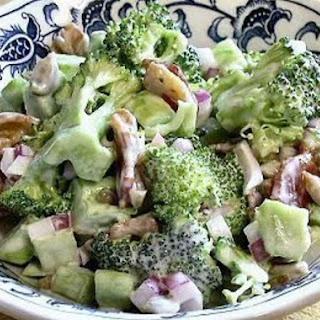 Broccoli Slaw Salad.