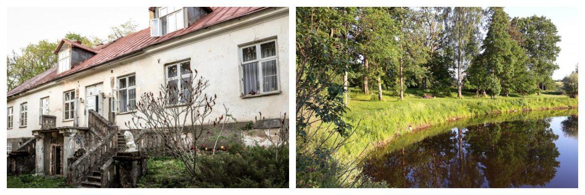 Lauku mājas, kurās atpūsties no pilsētas steigas