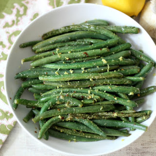 Lemon and Garlic Green Beans.