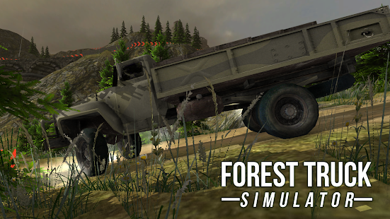 FOREST TRUCK SIMULATOR- screenshot thumbnail