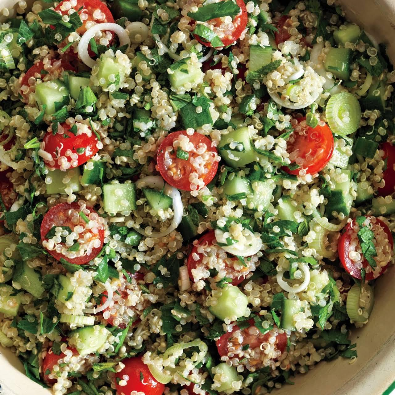 Quinoa Tabbouleh recipe | Epicurious.com