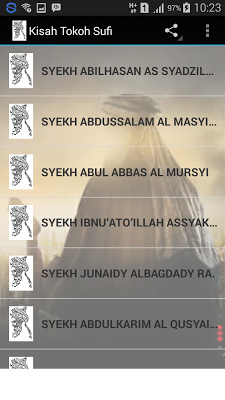 Kitab Kisah Tokoh Sufi - screenshot