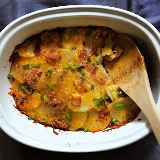 Loaded Scalloped Potato Casserole Recipe