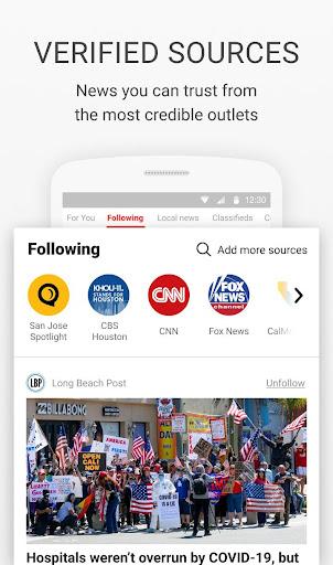 News Break: Local Breaking Stories & US Headlines 8.1.0 Screenshots 3