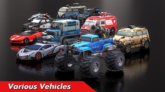 Overload Twisted Action: PvP Cars Racing Shooter 10