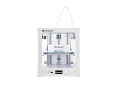 Ultimaker 3 3D Printer Fully Assembled with Enhanced Service Plan (2 Years of Warranty Protection)
