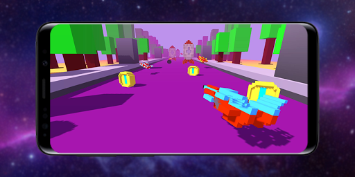 Télécharger Gratuit Infinity Racer: Spaceship Game 3D apk mod screenshots 1