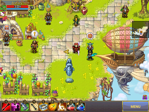 Warspear Online - Classic Pixel MMORPG (MMO, RPG) apkslow screenshots 16