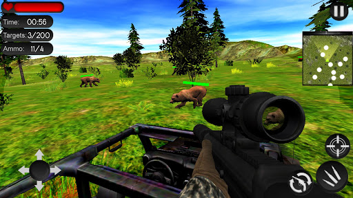 Bear Hunting on Wheels 4x4 - FPS Shooting Game 18 apkmr screenshots 4